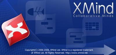 XMind 2008 splash mark